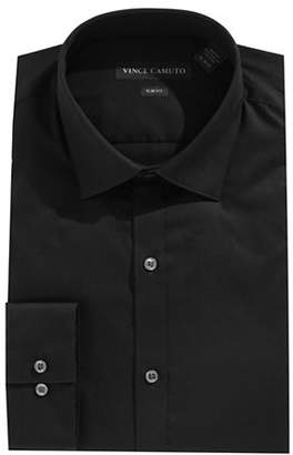 Vince Camuto Slim-Fit Long Sleeve Solid Shirt