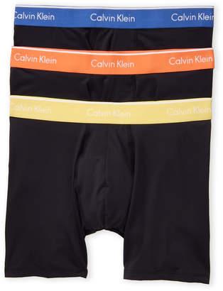 Calvin Klein 3-Pack Microfiber Boxer Briefs
