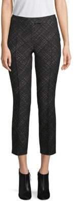 Akris Punto Cropped Wool-Blend Pants