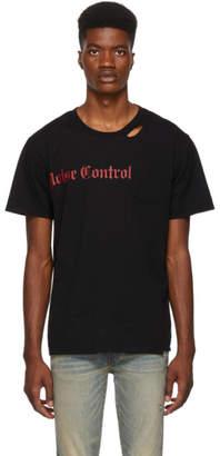 Stolen Girlfriends Club SSENSE Exclusive Black Noise Control T-Shirt
