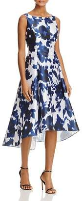 Adrianna Papell Abstract Floral High/Low Dress - 100% Exclusive