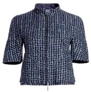 Emporio Armani Short Sleeve Tweed Jacket