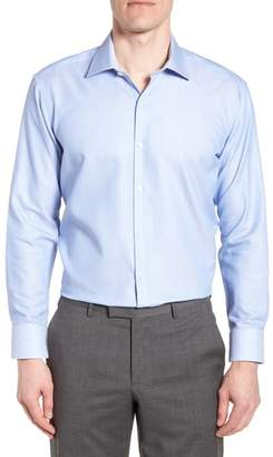 Tailorbyrd Holmes Trim Fit Dot Dress Shirt