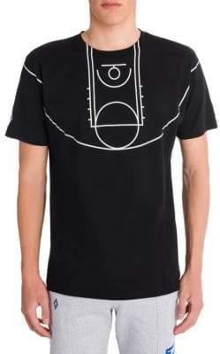 Marcelo Burlon County of Milan NBA Court Tee