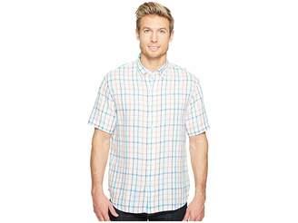 Tommy Bahama Celestia Plaid Camp Shirt Men's Clothing