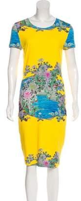 Preen by Thornton Bregazzi Printed Scuba Dress