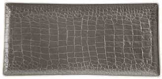 L'OBJET Crocodile Rectangular Porcelain Tray