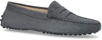 J.P Tods Gommino Suede Driving Shoes