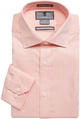 Black Brown 1826 Long Sleeve Button-Down Dress Shirt
