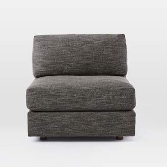 west elm Armless Chair - Extra Deep