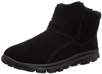 Skechers Women's Go Walk Move-Chugga Imprint Bootie