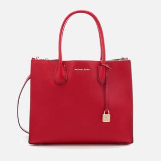 MICHAEL Michael Kors Women's Mercer Large Conversational Tote Bag - Bright Red