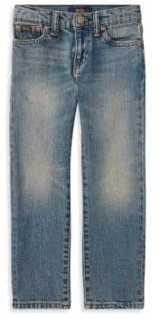 Ralph Lauren Little Boy's& Boy's Hampton Straight Stretch Jeans