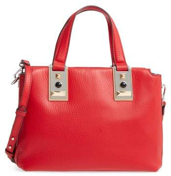 Vince Camuto Bitty Leather Satchel - Red