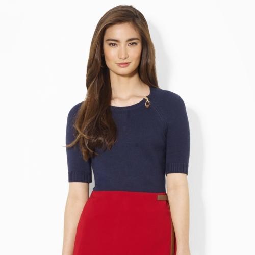 Ralph Lauren Wool-Blend Crewneck Sweater