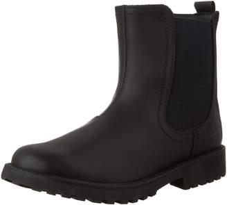 Clarks Girls Rhea Amber JR Leather Boot