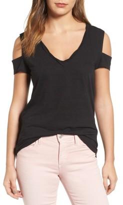 Women's Pam & Gela Cold Shoulder Tee $95 thestylecure.com