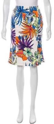 Les Copains Optical Pencil Skirt w/ Tags