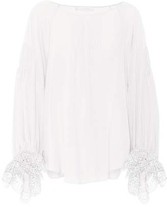 Chloé Exclusive to mytheresa.com – silk blouse