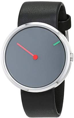d1498bdbe452 Jacob Jensen Unisex Analogue Classic Quartz Watch with Leather Strap JJ250