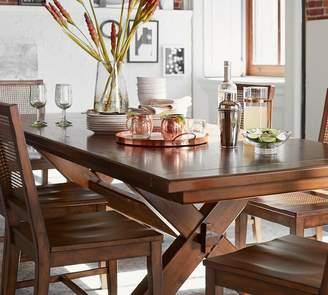 Pottery Barn Toscana Extending Dining Table & Buffet, Tuscan Chestnut