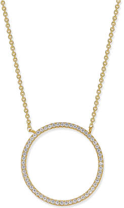 INC International Concepts I.n.c. Pave Open Circle Pendant Necklace, Created for Macy's