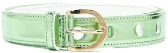 Emilio Pucci metallic belt
