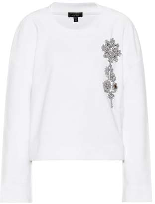Burberry Embellished cotton sweater