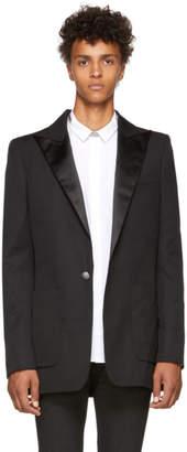 Balmain Black Wool Pagode Blazer