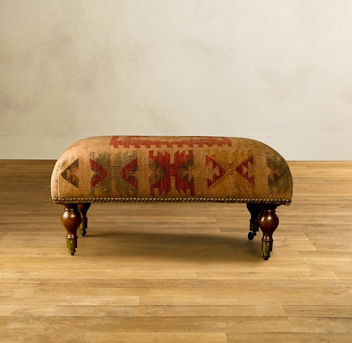 Kilim Coffee Bench