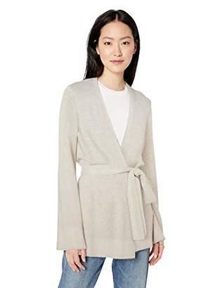 Daily Ritual Women's Long-Line Open-Front Cardigan Sweater