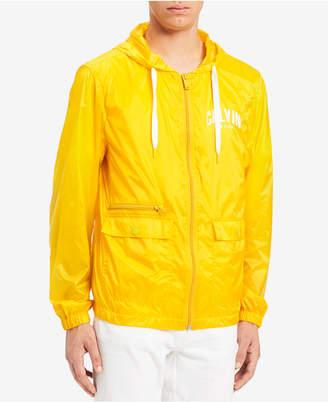 Calvin Klein Jeans Men's Nylon Windbreaker