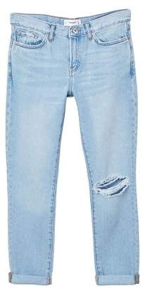 MANGO Relaxed Girlfriend jeans