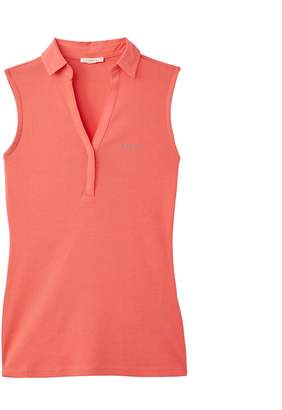 Esprit Sleeveless 100% Cotton Polo Shirt