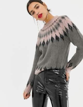 Vero Moda Geo-Tribal Knitted Sweater