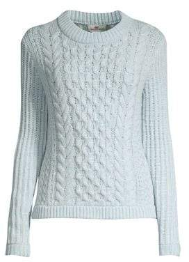 Vineyard Vines Fisherman Wool& Cashmere Cable Knit Sweater
