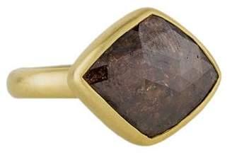 Me & Ro Me&Ro 18K Flame Diamond Cocktail Ring