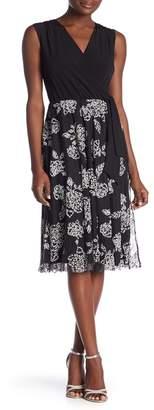 Onyx Nite Short Dress Caviar Circle Skirt