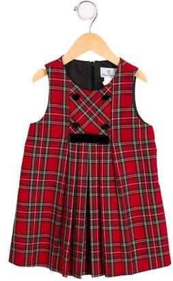 Florence Eiseman Girls' Sleeveless Plaid Dress