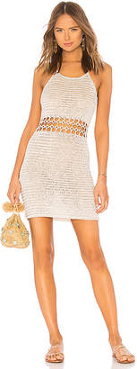 Lovers + Friends Ring It Crochet Dress