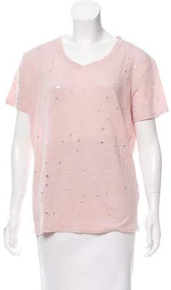 IRO Distressed T-Shirt