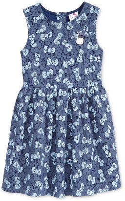 Hello Kitty Lace Bow-Print Dress, Toddler & Little Girls (2T-6X) $42 thestylecure.com
