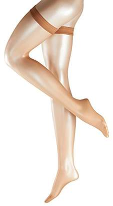 Falke Women's 41561 Matt Fein 7 DEN Hold - up Stockings - Black
