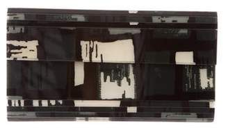 Lulu Guinness Acrylic Flap Bag