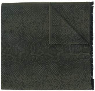 Tom Ford snake print scarf