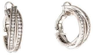 Cartier Diamond Trinity Hoops