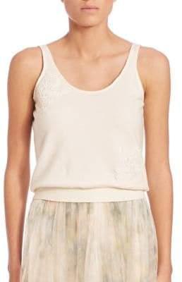 Jenny Yoo Cora Lace Applique Tank