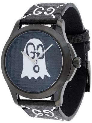 Gucci Black White GucciGhost G-Timeless watch