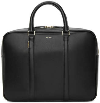 Free Shipping at SSENSE · Paul Smith Black New City Slim Briefcase 744c8b1bc7