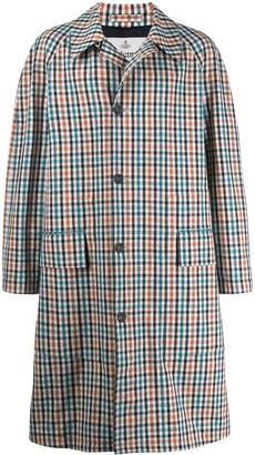 Vivienne Westwood vichy print trench coat